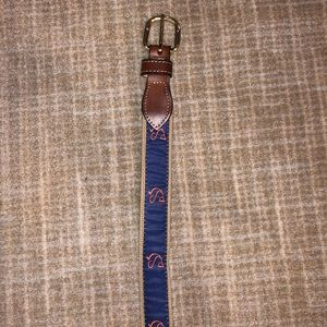 Other - Charleston Angler stitch belt sz 32